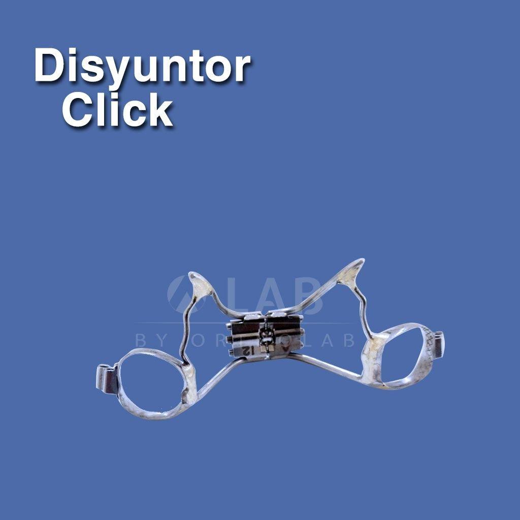 Disyuntor Click Aparatologia fija ortodoncia disyuncion dx