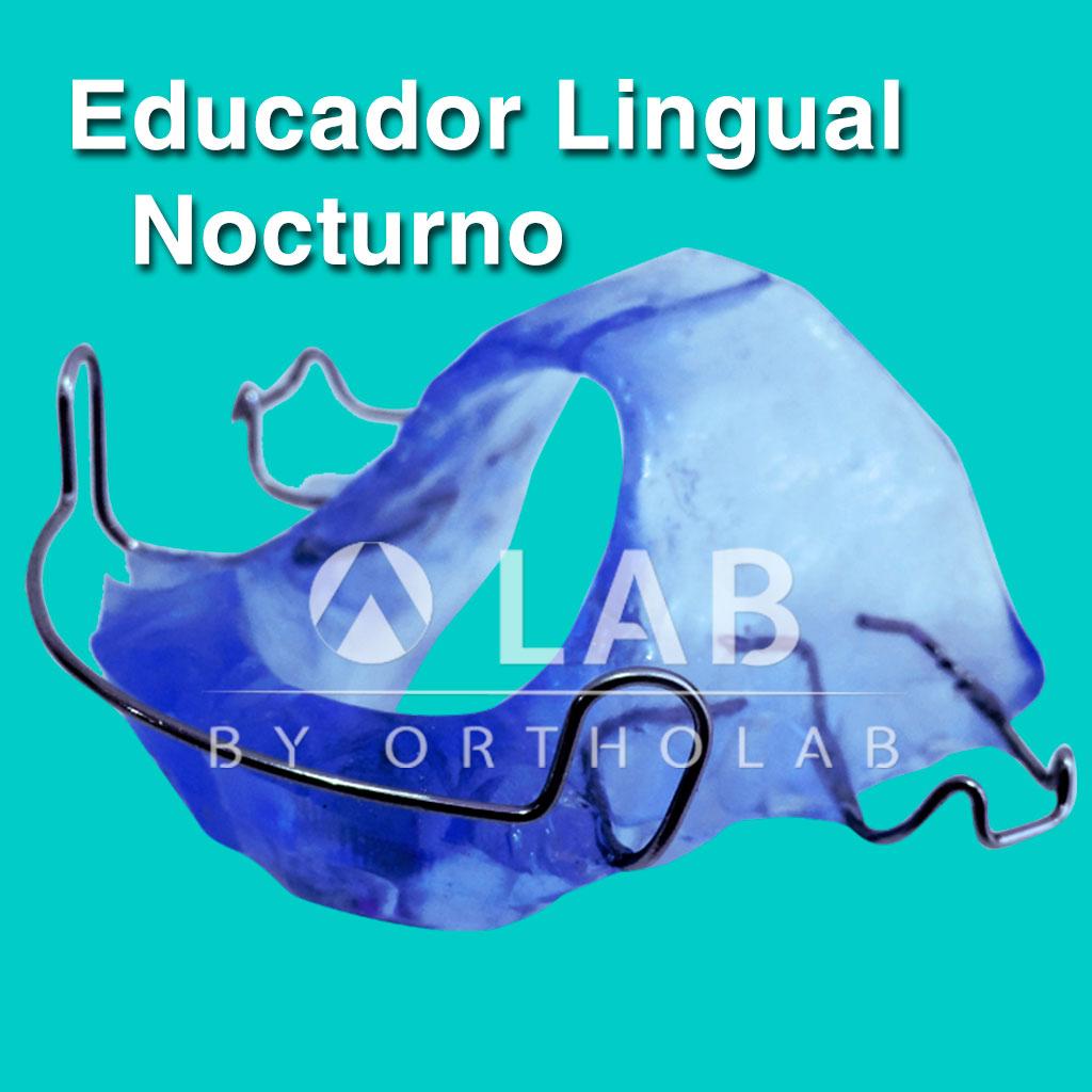 Educador Lingual Nocturno Placa Activa Aparatologia Ortodoncia