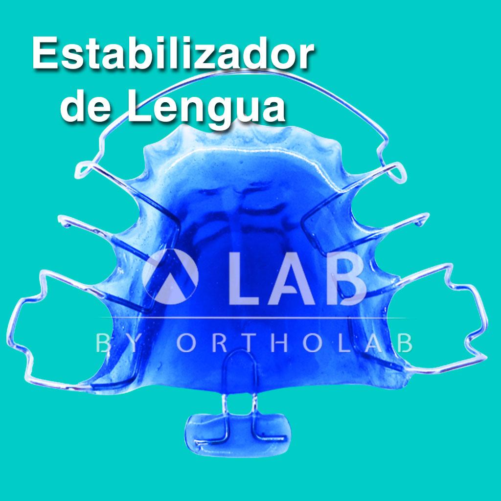 Estabilizador de Lengua Aparatologia ortodoncia Placa Activa