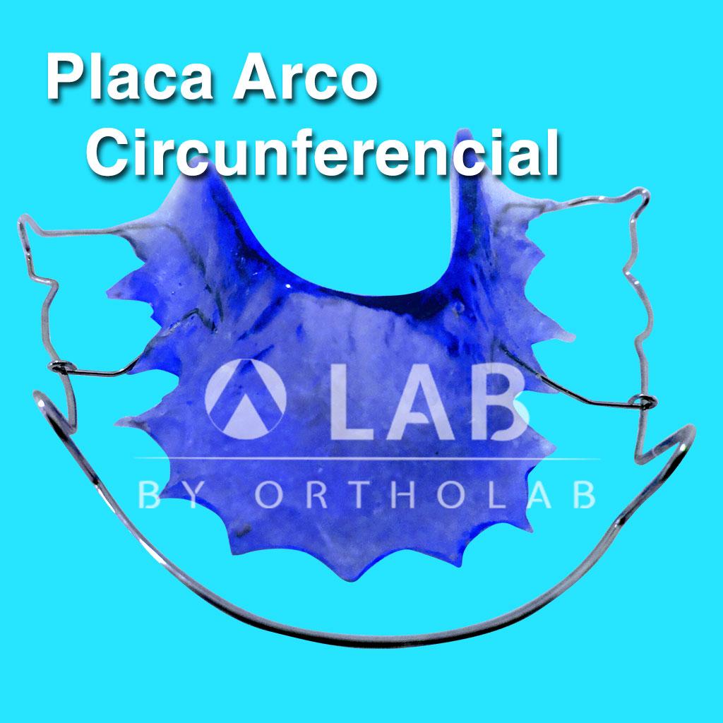Placa Arco Circunferencial Aparatologia Ortodoncia Retenedor