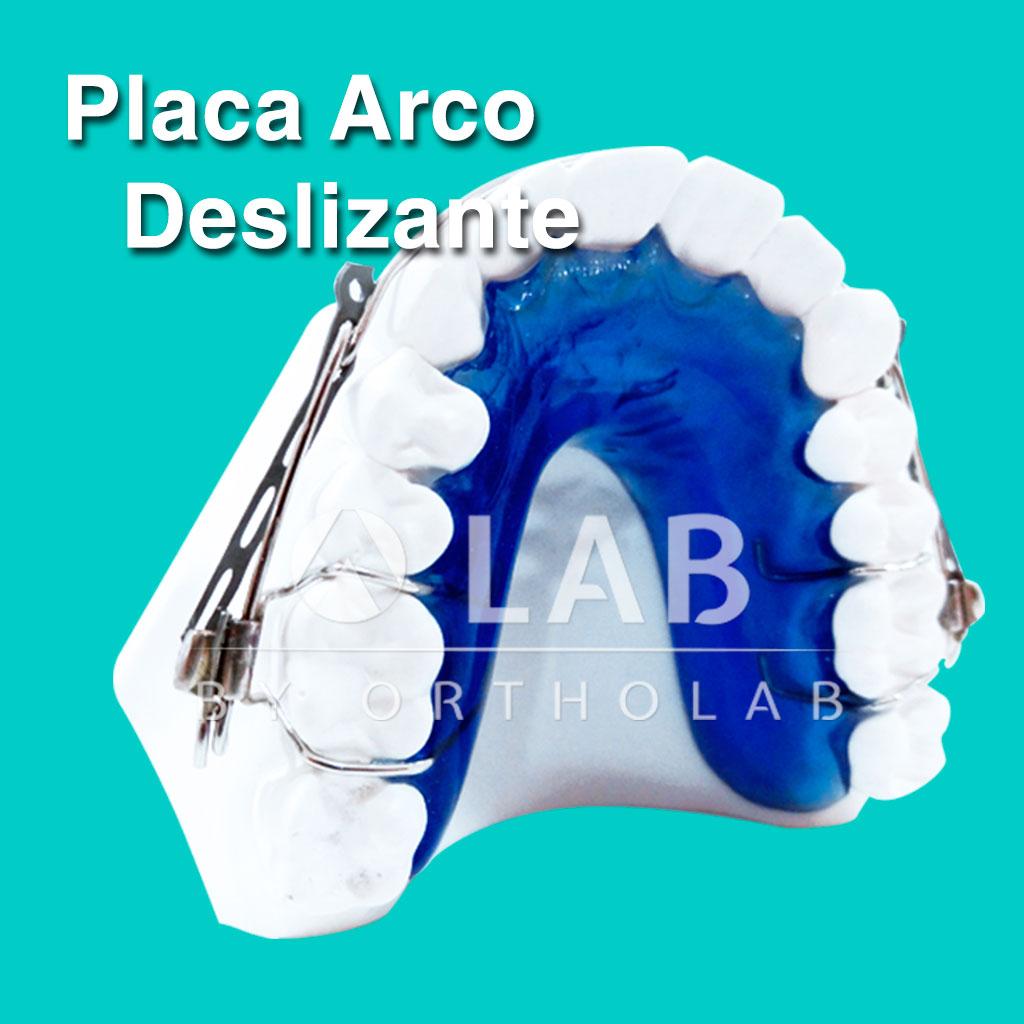 Placa Arco Deslizante Placas Activas Aparatologia Ortodoncia