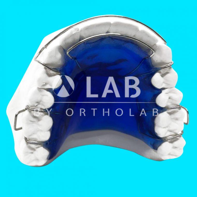 Placa Post Tratamiento CII Clase II Aparatología Ortodoncia Removible