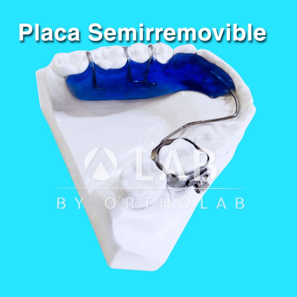 Placa Semirremovible Aparatologia Ortodoncia Retencion