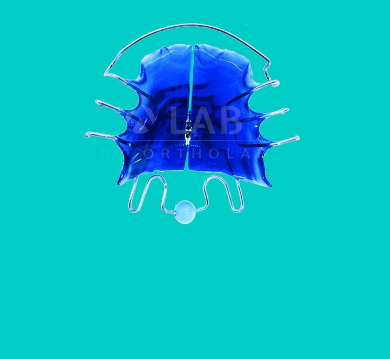 Placa Ejercitador Lingual - Aparatología Placas Activas