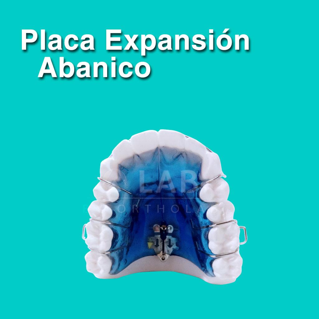 Placa Expansión Abanico - Aparatología Placas Activas