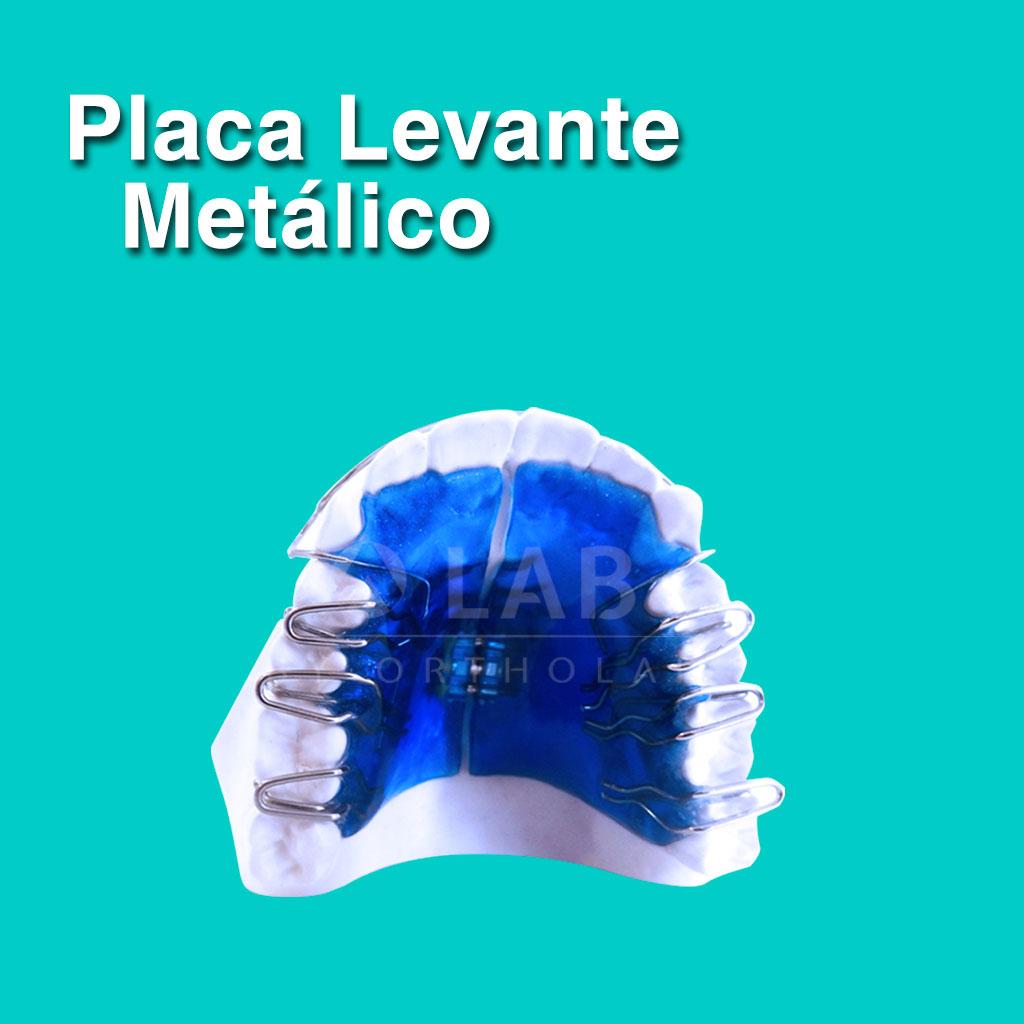 Placa Levante Metálico - Aparatología Placas Activas