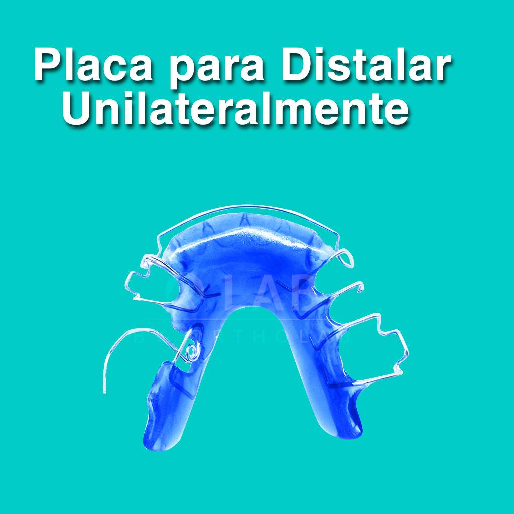 Placa para distalar unilateralmente - Aparatología Placas Activas