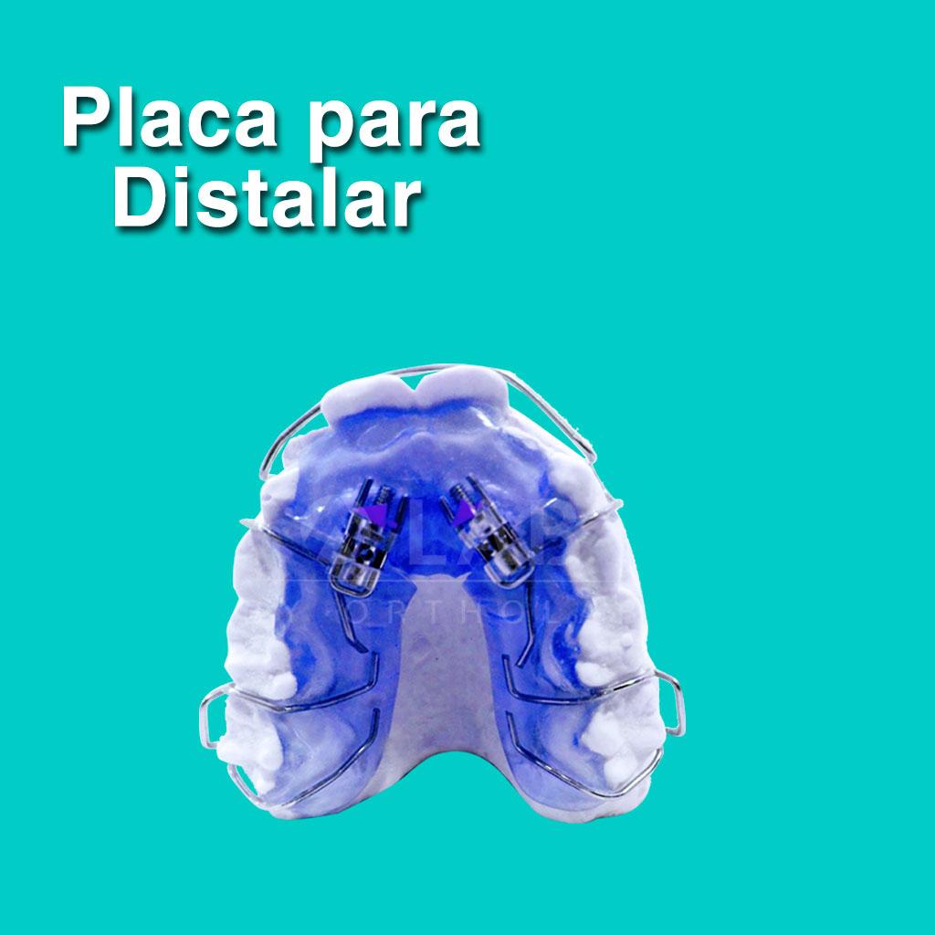 Placa para distalar - Aparatología Placas Activas