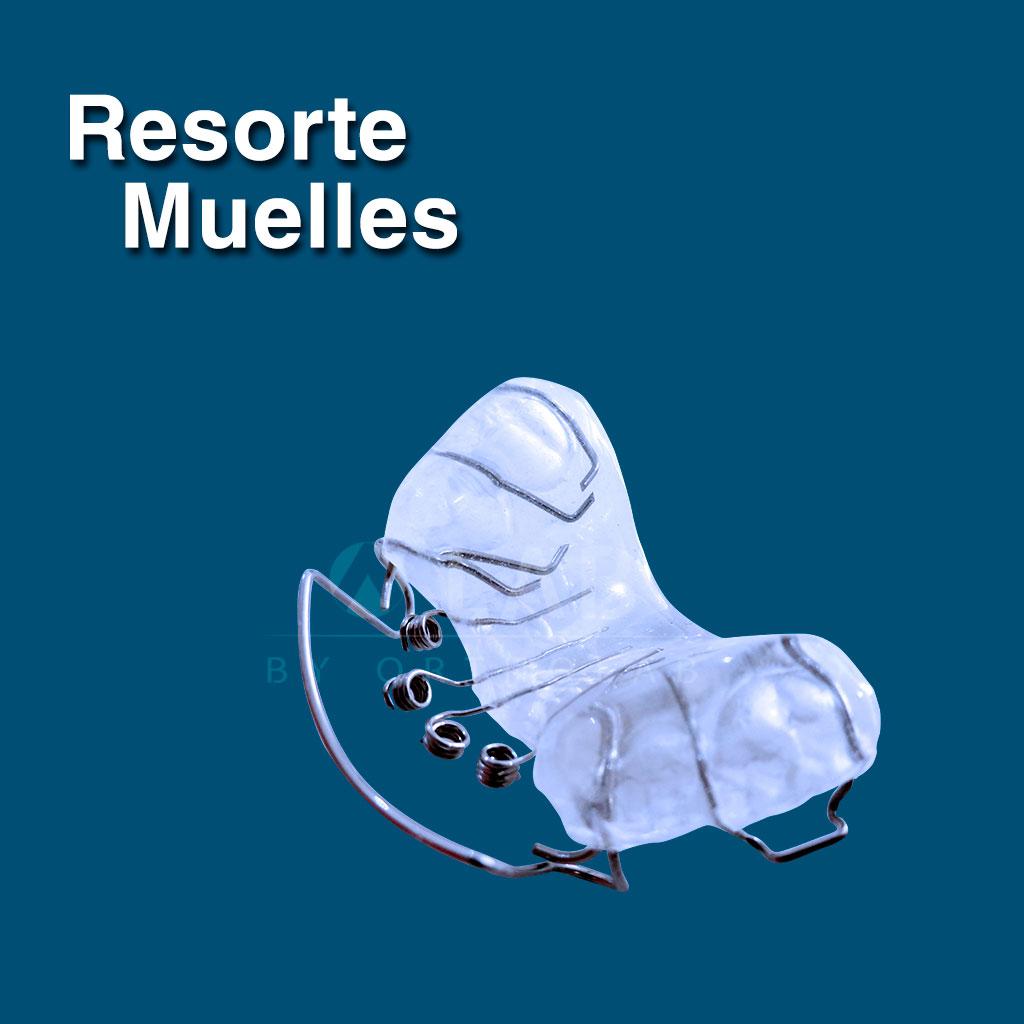 Resorte con Muelles - Complementos de aparatología de Ortodoncia