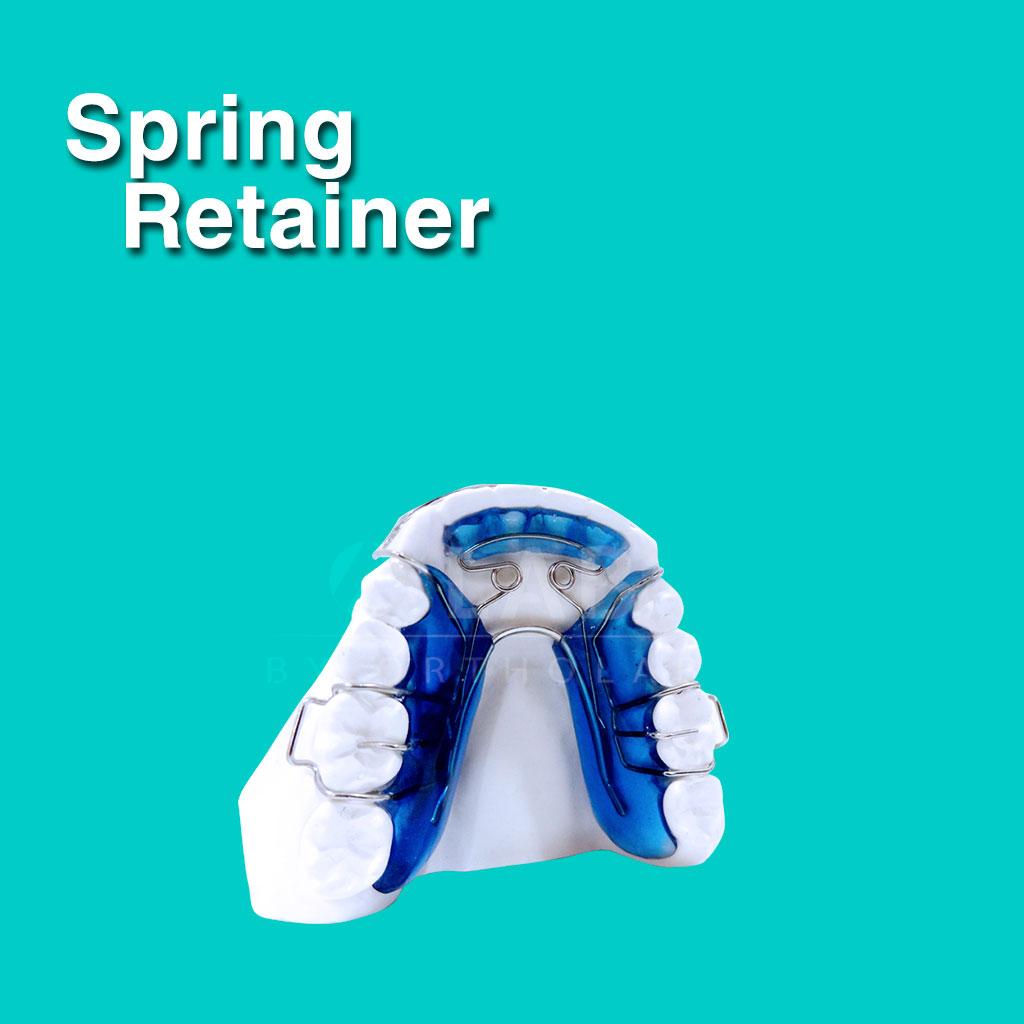 Spring Retainer - Aparatología Placas Activas