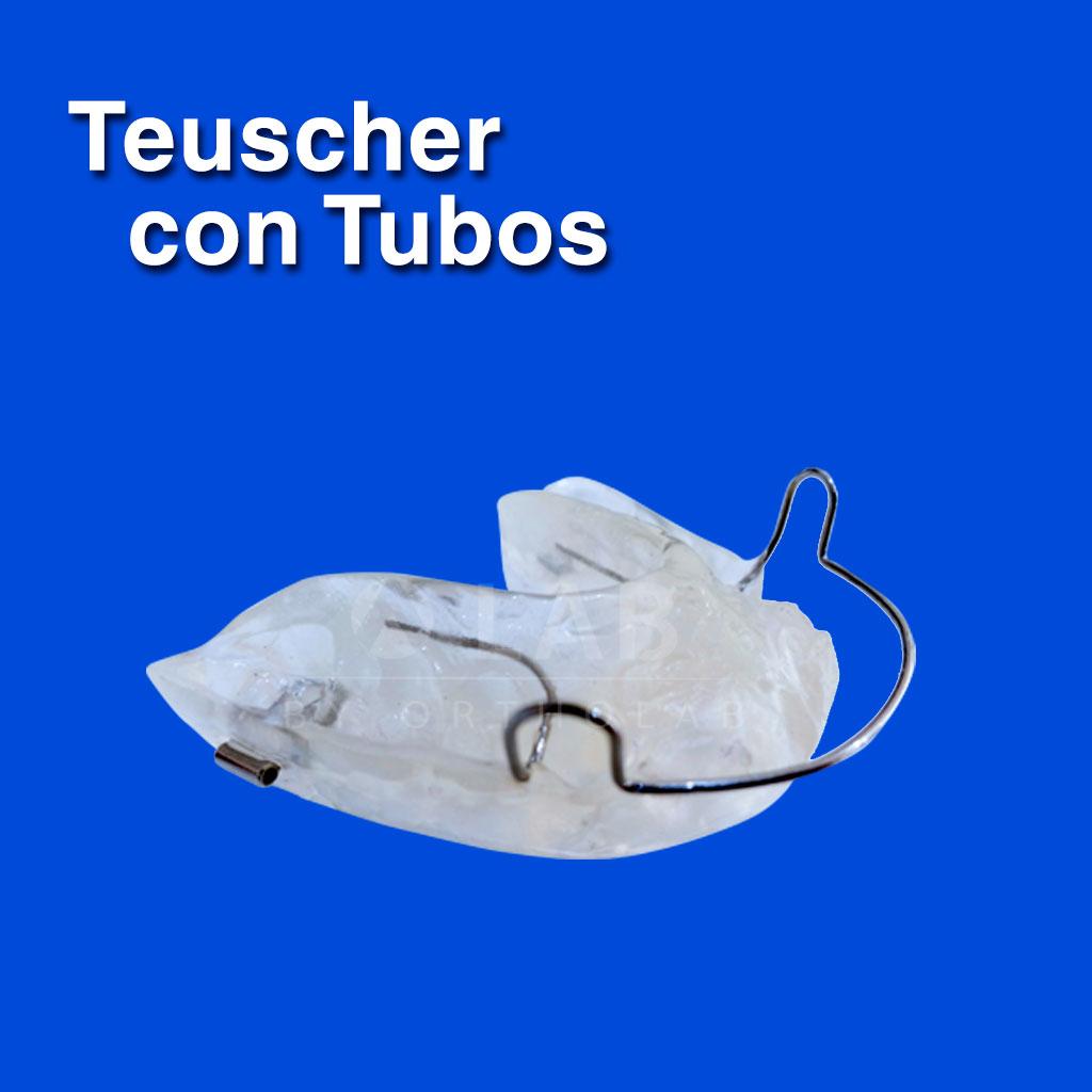 Teuscher con Tubos - Aparatología Ortodoncia Funcional