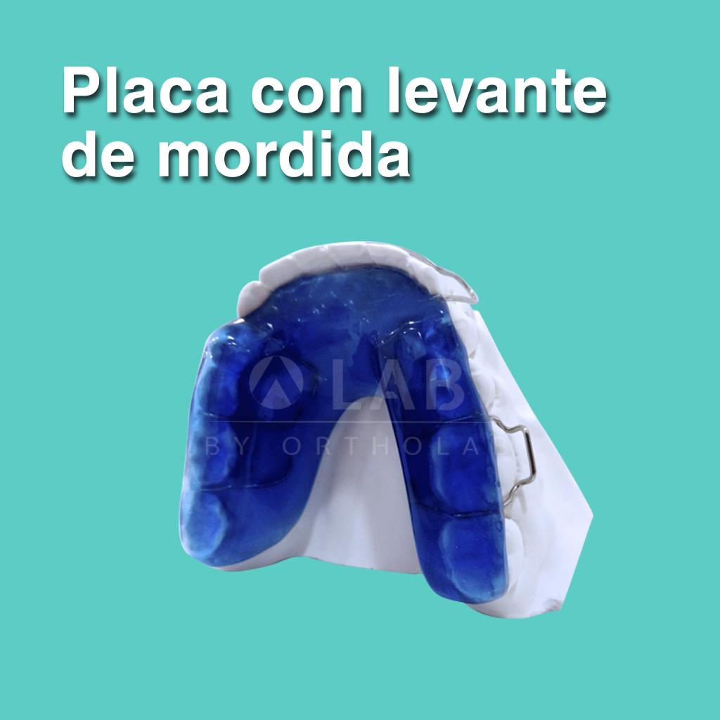 Placa Levante de Mordida - Aparatología Placas Activas